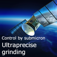 Control by submicron Ultraprecise grinding