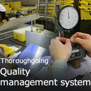 Thoroughgoing Quality management system